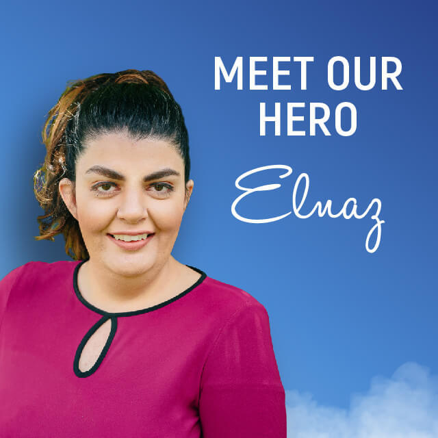 2019 arc Hero: Elnaz Sobhi
